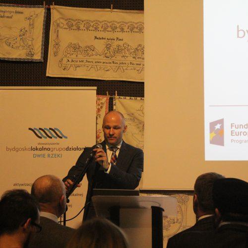 """Konferencja pt. LGD """"Dwie Rzeki"""" – od strategii do działania"""