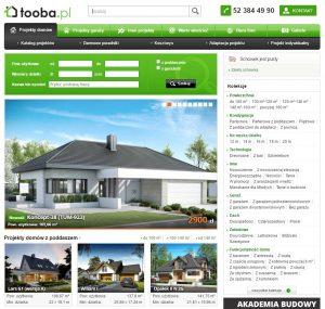 Zdjęcie strony internetowej Tooba