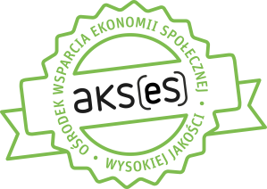Logo ośrodka wsparcia ekonomii społecznej