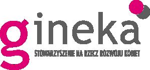Logo gineka - stowarzyszenie na rzecz rozwoju kobiet