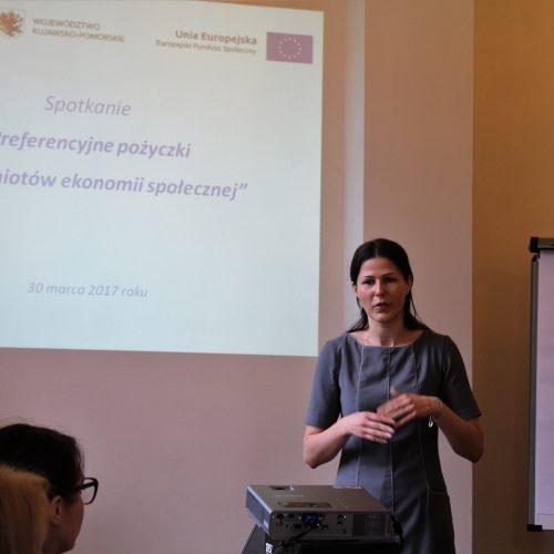 """Spotkanie """"Preferencyjne pożyczki dla podmiotów ekonomii społecznej"""""""