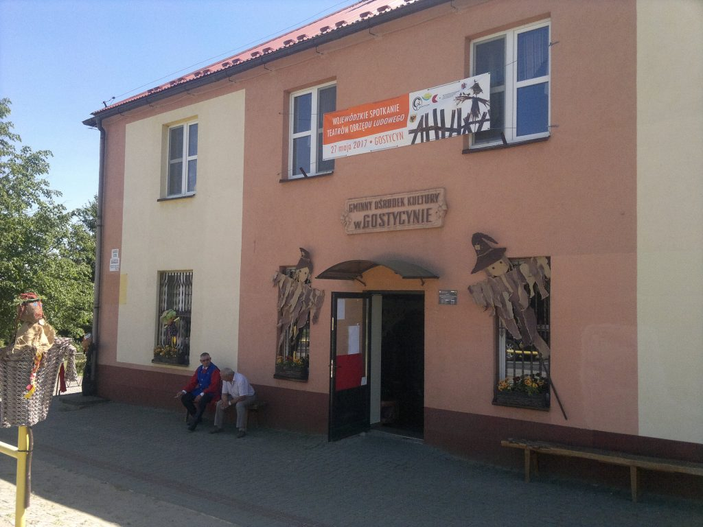 Zdjęcie Gminnego Ośrodka Kultury w Gostycynie