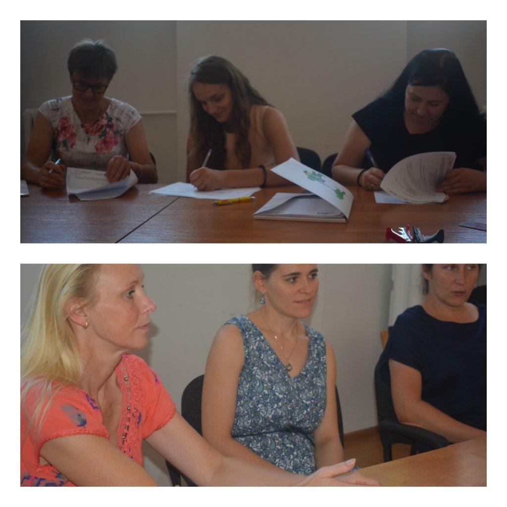 Kolaż dwóch zdjęć kobiet podpisujących dokumenty