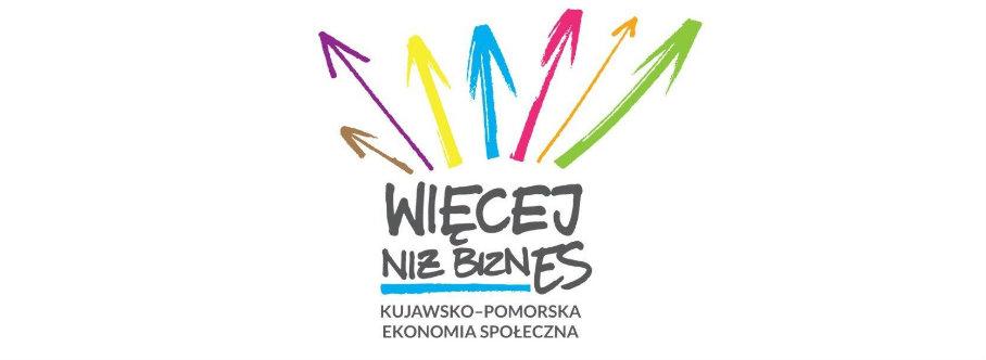 """Logo akcji """"więcej niż biznes"""""""