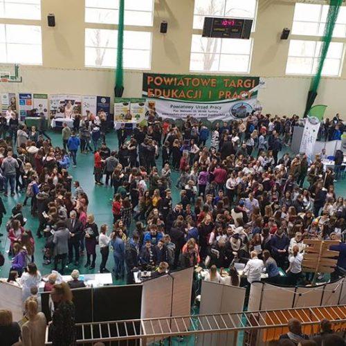 TARGI EDUKACJI I PRACY 2019  W TUCHOLI