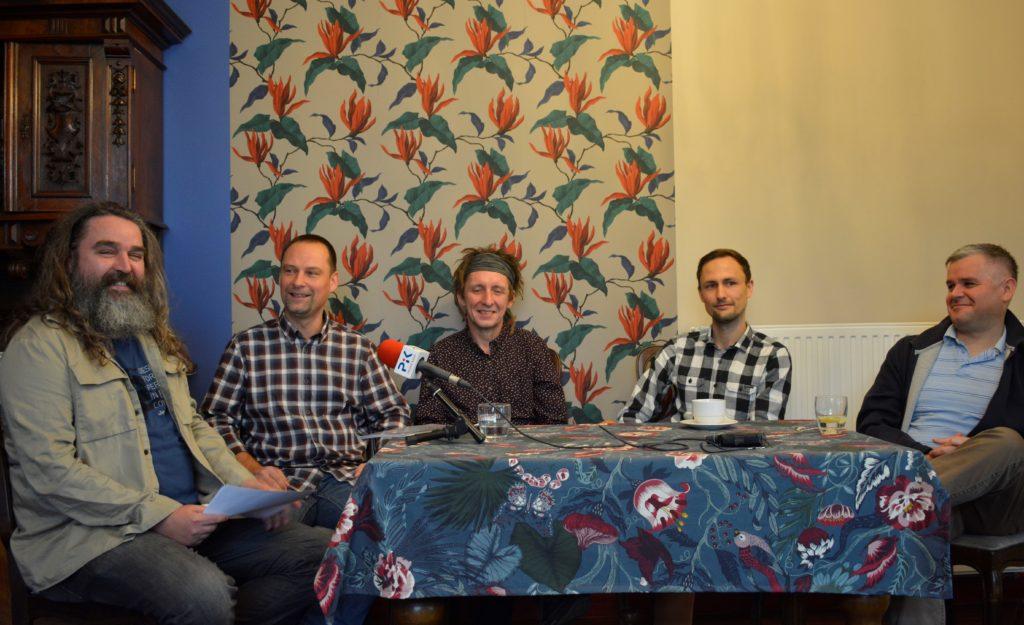 Wywiad z zespołem Dubska prowadzone przez radio PiK