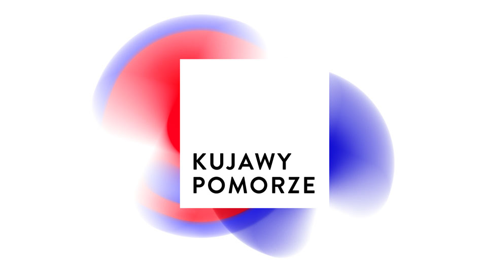 """Logo z napisem """"Kujawy Pomorze"""""""