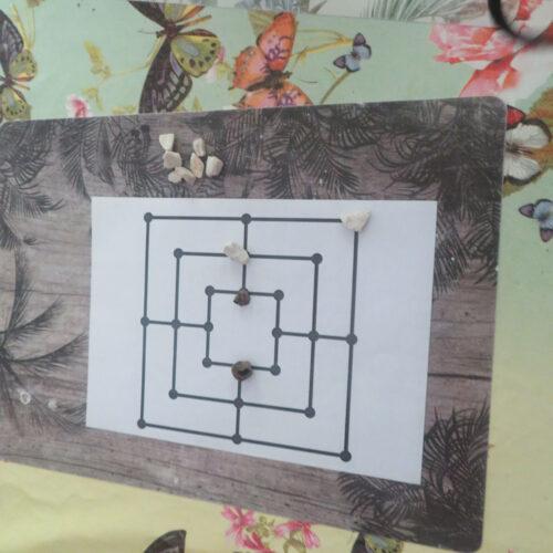 Lekcja historii średniowiecznej - gra planszowa