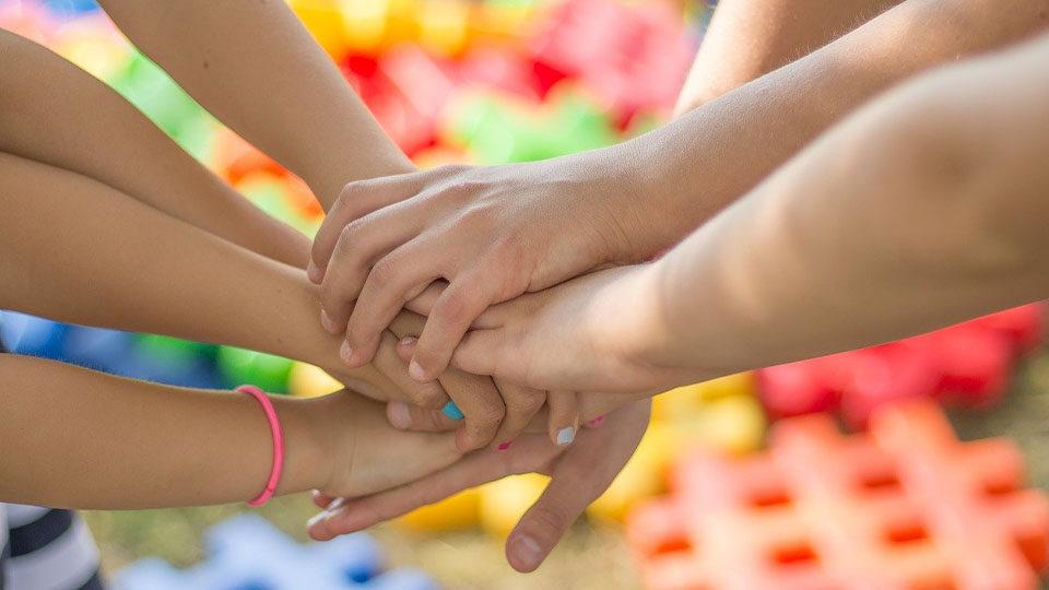 Ręce - jeden za wszystkich, wszyscy za jednego