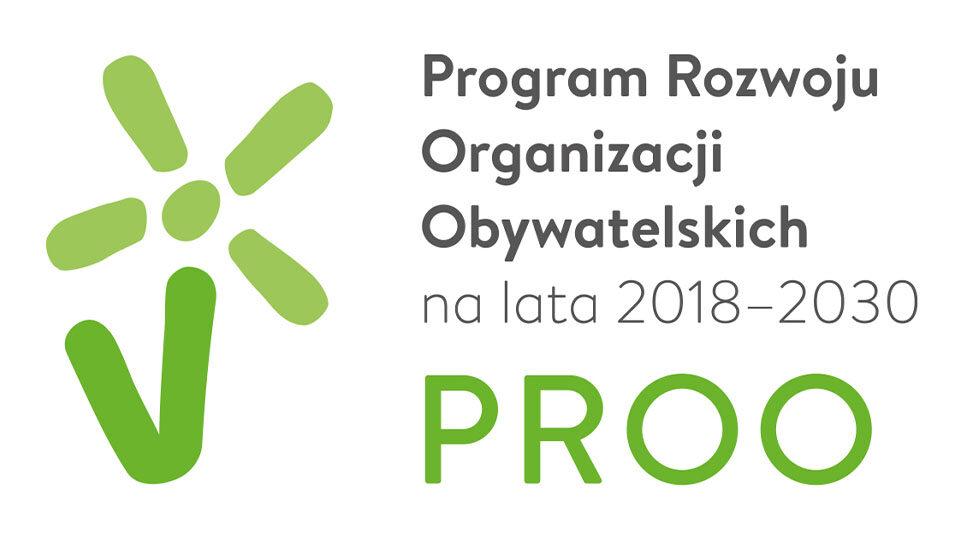 Logo programu PROO.