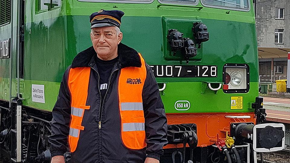 Na zdjęciu Pan Jerzy Golonka