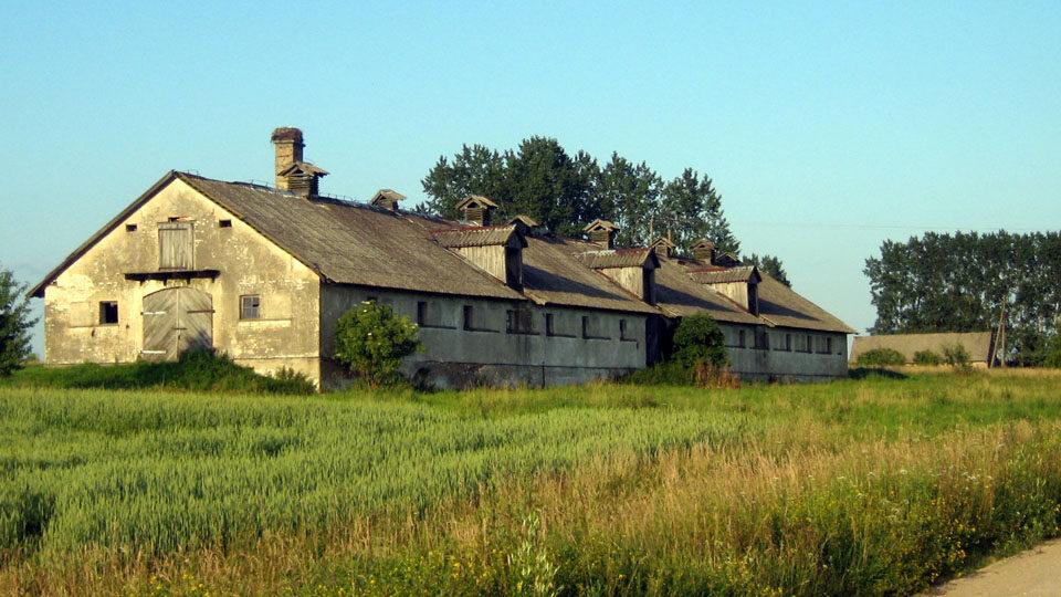 Widok na pegieerowską wieś
