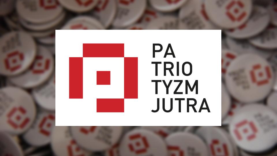Logotyp programu Patriotyzm Jutra